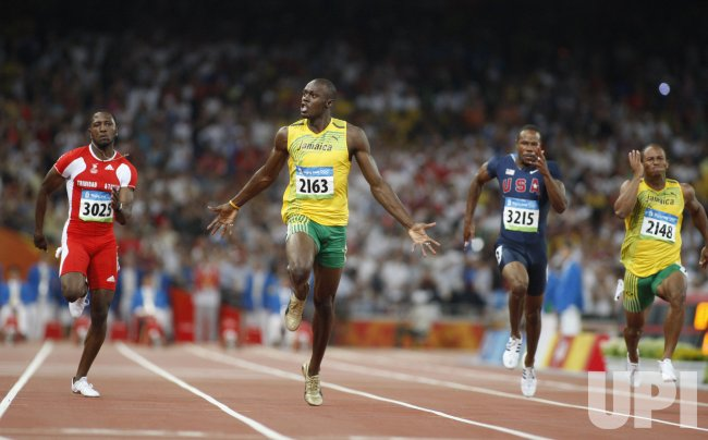 100m World Record by Usain Bolt at 2008 Olympics in ...