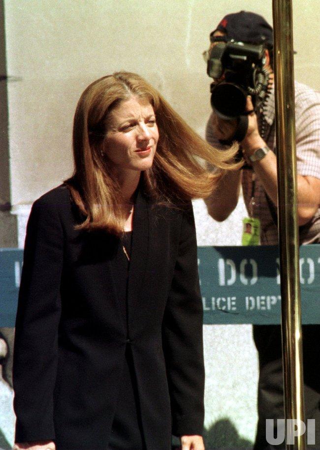 Caroline Kennedy Schlossberg attends JFK memorial