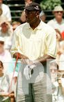 Michael Jordan at the Ameritech Senior Open