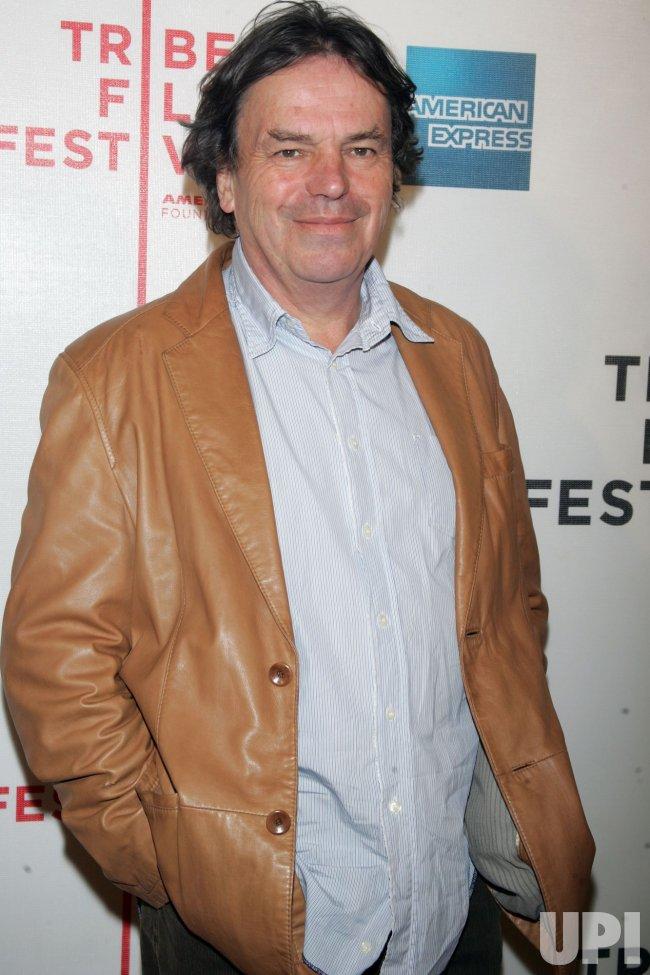 """Neil Jordan arrives for the Premiere of """"Ondine"""" at the Tribeca Film Festival in New York"""