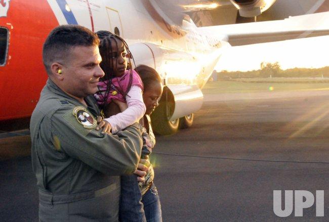 U.S. Southern Command evacuates earthquake victims from Haiti.