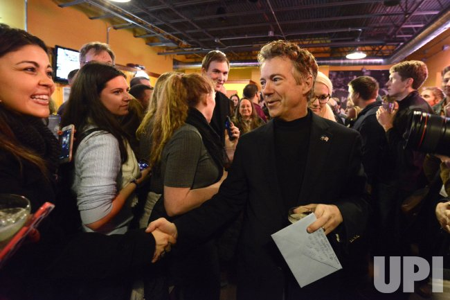 Sen. Rand Paul attends 53rd birthday party in Des Moines, Iowa