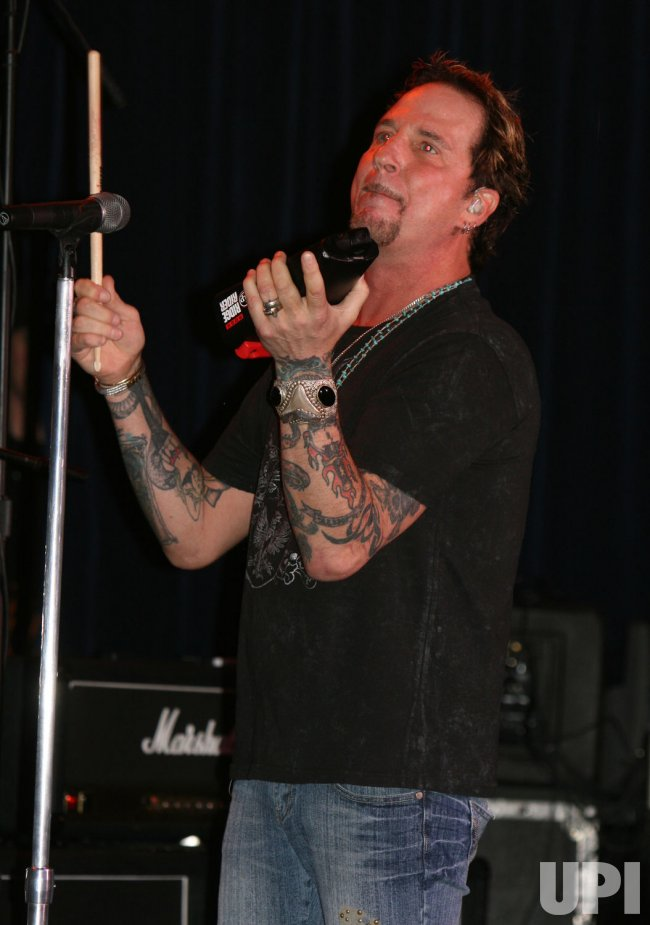 Great White performs in concert in Las Vegas