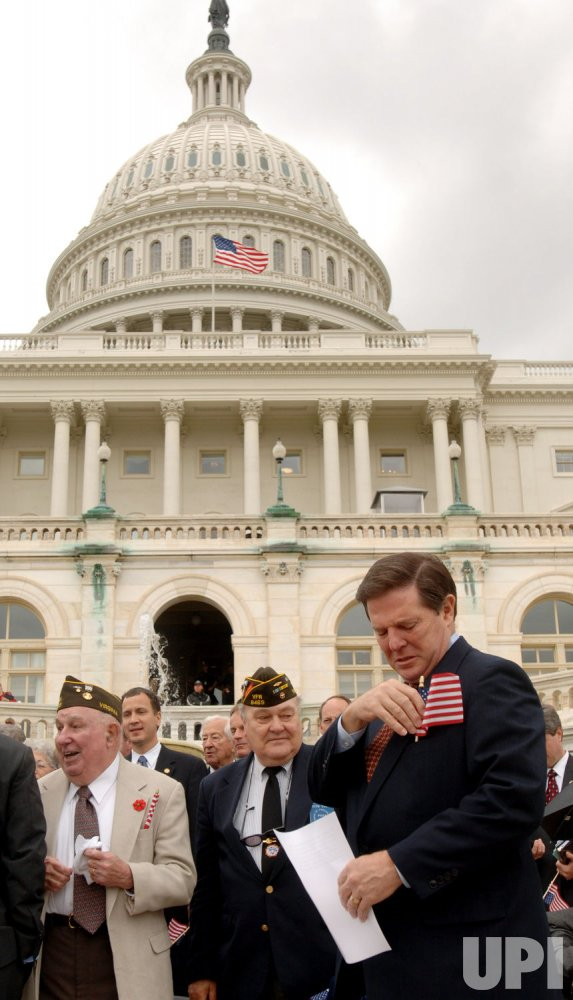 DELAY AND REPUBLICANS SALUTE VETERANS