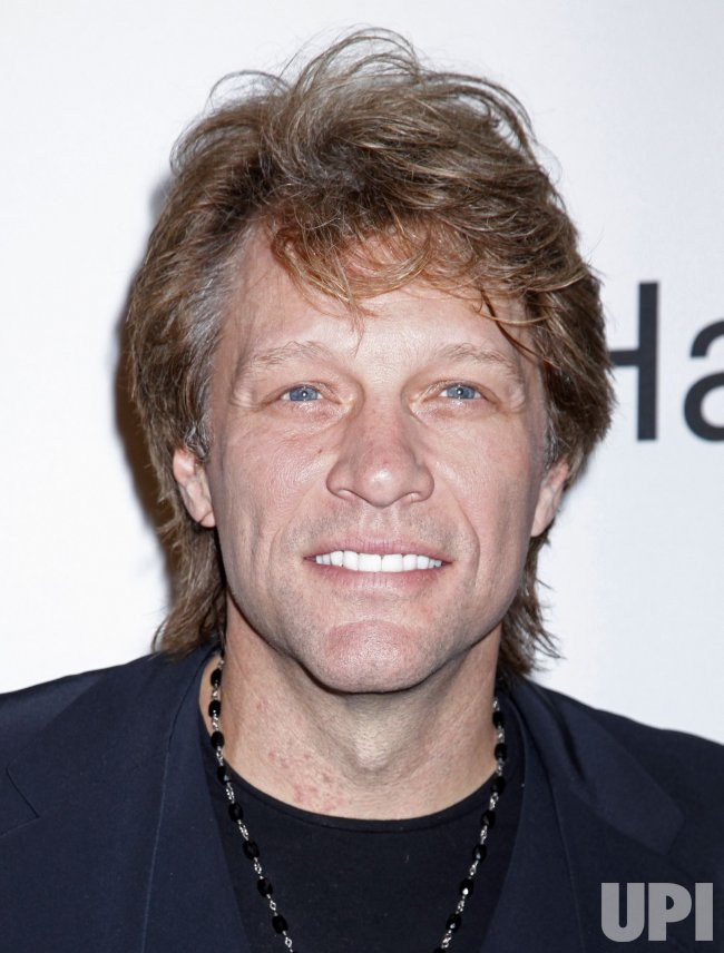 Jon Bon Jovi arrives at the Clive Davis Pre-Grammy Gala in Beverly Hills