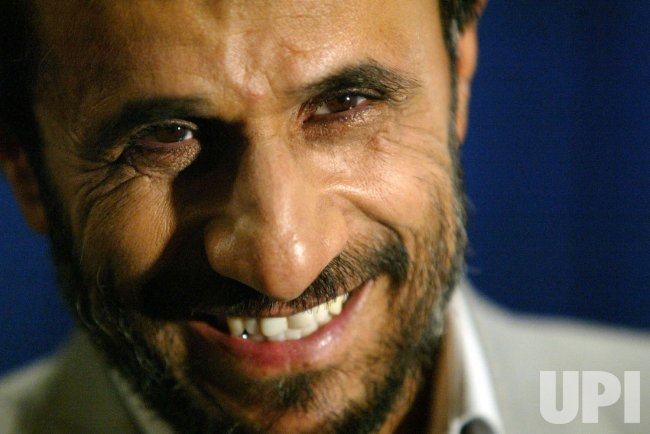 AHMADINEJAD'S PRESS CONFERENCE