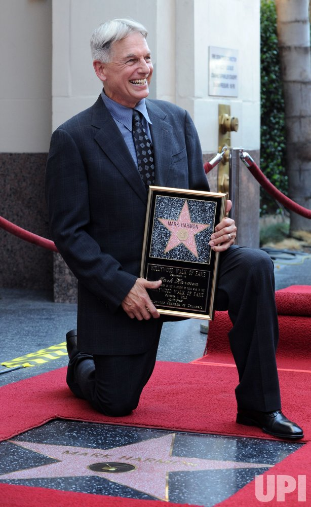 Mark Harmon receives a star on the Hollywood Walk of Fame in Los Angeles