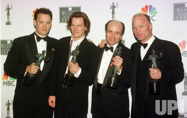 Tom Hanks, Kevin Bacon, Clint Howard and Ed Harris