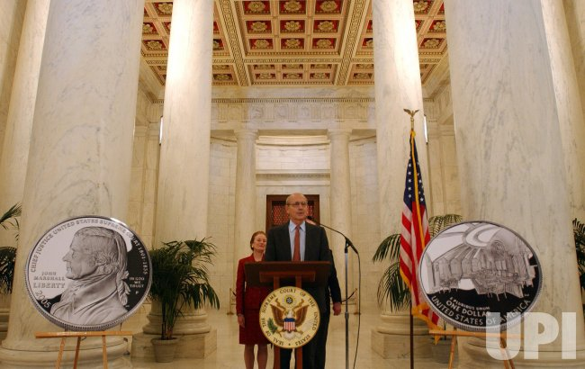 US MINTS CHIEF JUSTICE MARSHALL DOLLAR