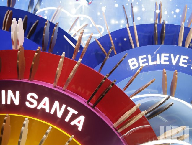 Macy's Herald Square Holiday Windows Unveiled in New York