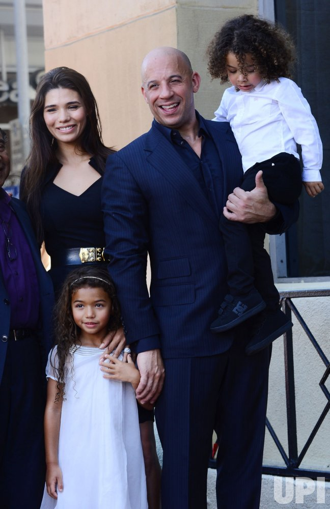 Vin Diesel receives star on Hollywood Walk of Fame in Los Angeles