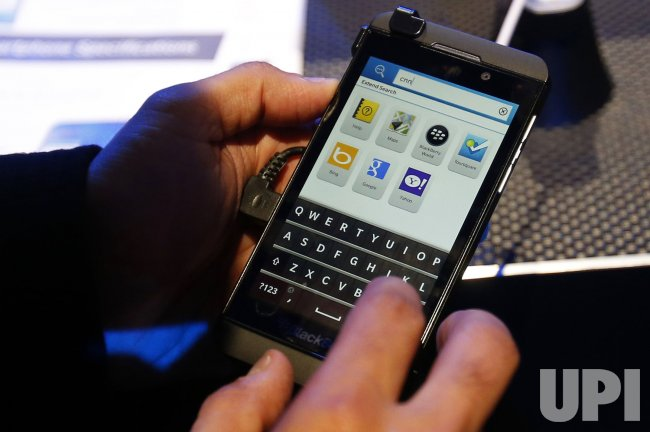 Blackberry 10 launch event in New York