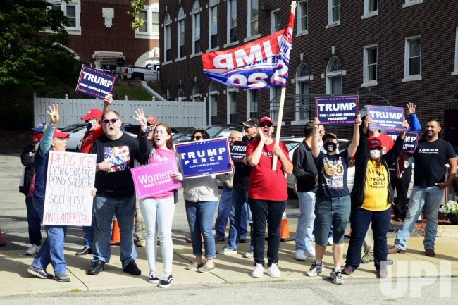 Biden and Trump Supporters in Pennsylvania
