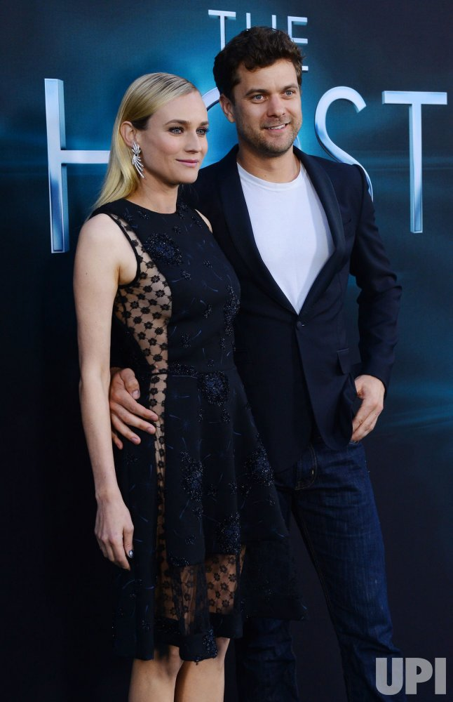"Diane Kruger and Joshua Jackson attend ""The Host"" premiere in Los Angeles"