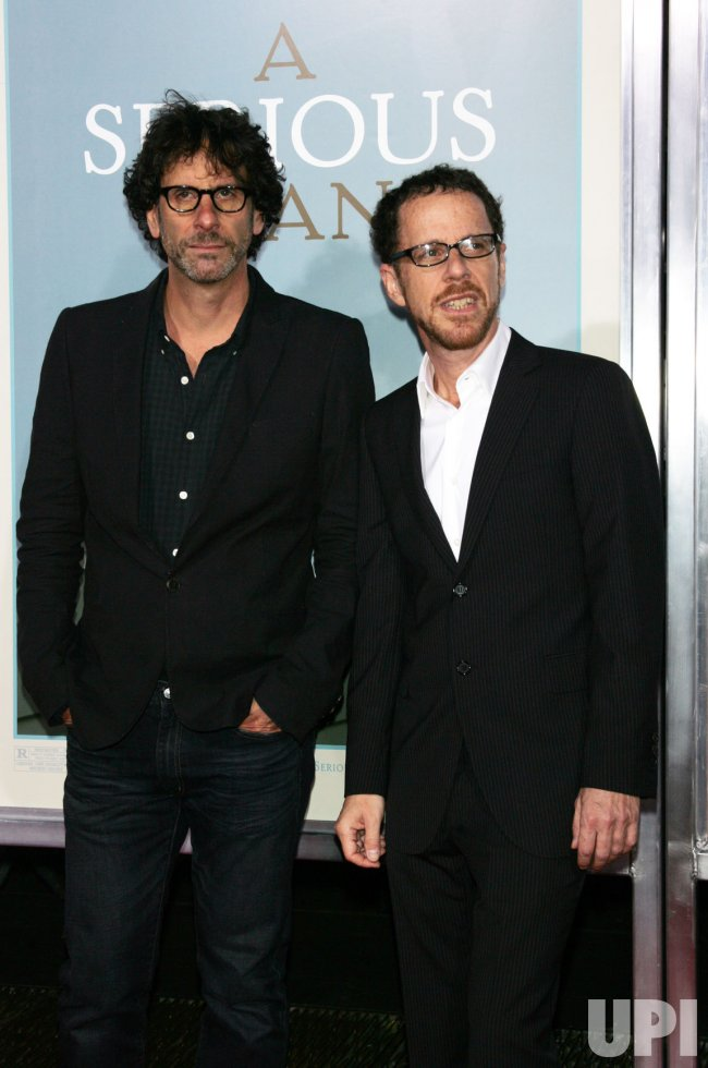 "Joel and Ethan Coen arrive at the ""A Serious Man"" Premiere in New York"