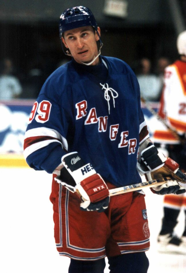New York Ranger Wayne Gretzky