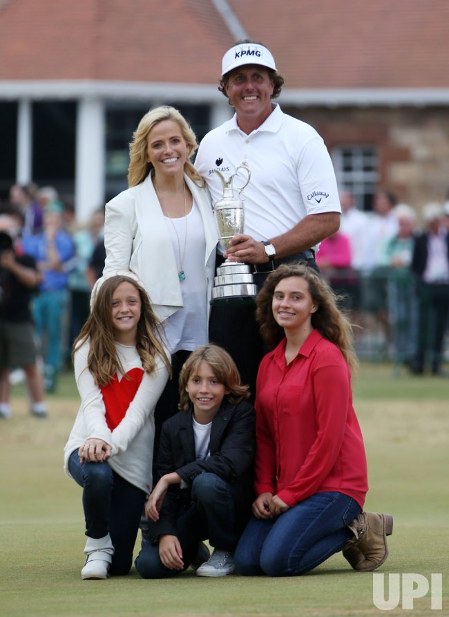 Phil Mickelson wins the Open Championship at Muirfield