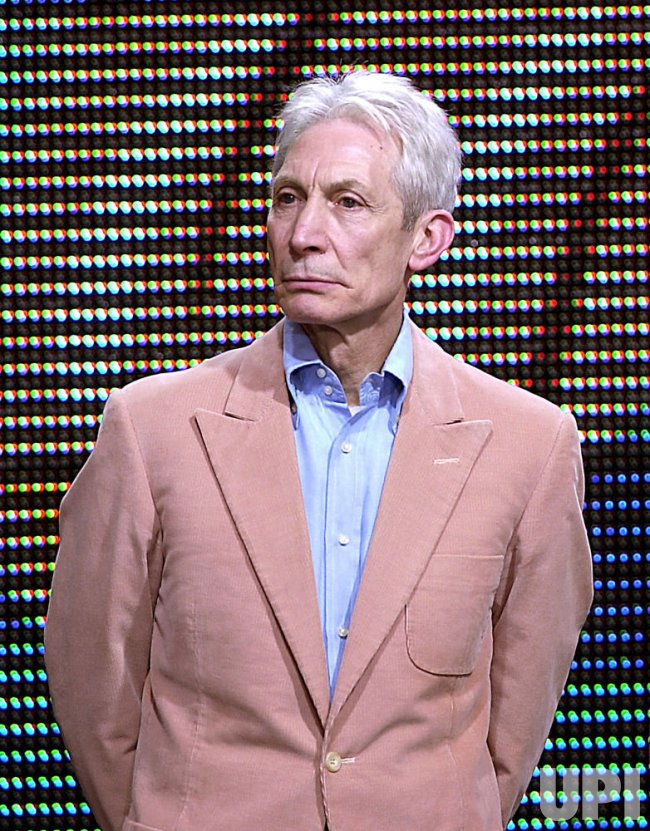 CHARLIE WATTS OF THE ROLLING STONES RECEIVES TREATMENT FOR THROAT CANCER