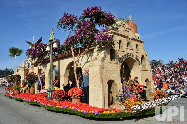129th Tournament of Roses Parade held in Pasadena, California