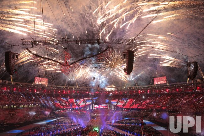 Closing ceremony of the 2012 Olympics in London