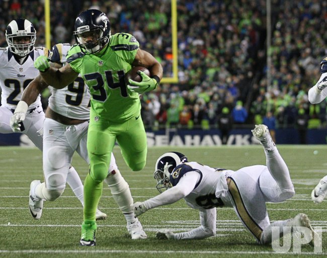 Seattle Seahawks beat Los Angeles Rams 24-3 in Seattle