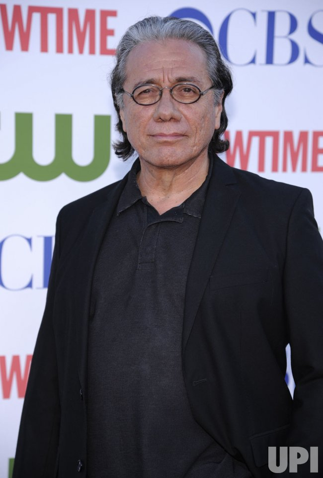 Edward James Olmos attends the CBS TCA party in Beverly Hills, California