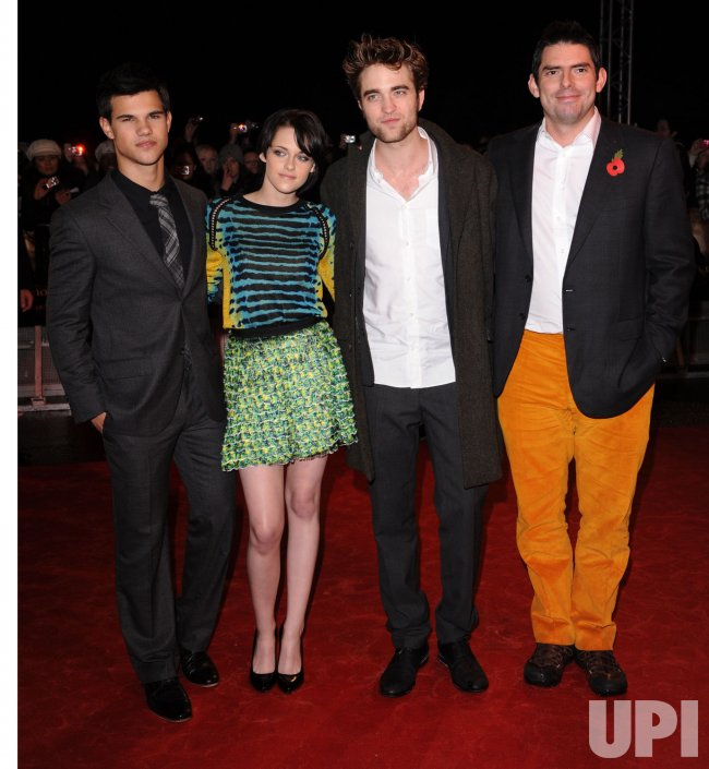 Cast and director attend New Moon fan event in London
