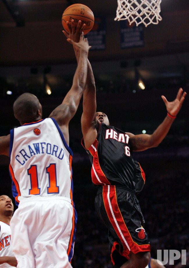 Miami Heat vs New York Knicks in New York