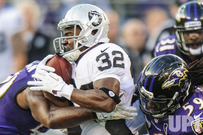 Oakland Raiders vs Baltimore Ravens