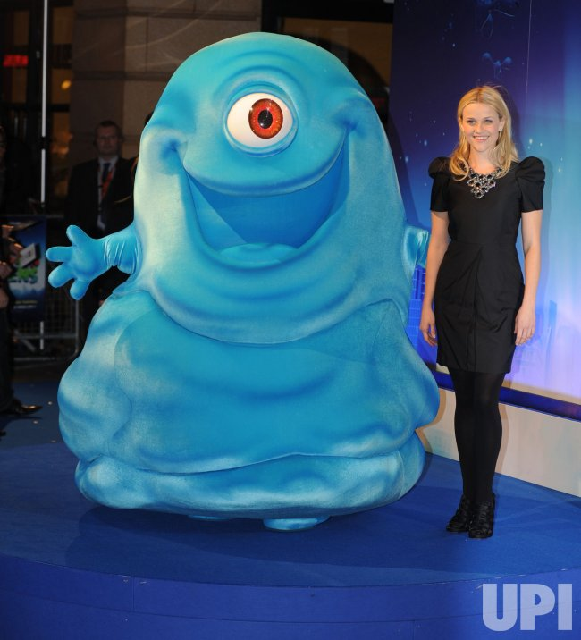 """Monsters Vs Aliens"" premiere in London"