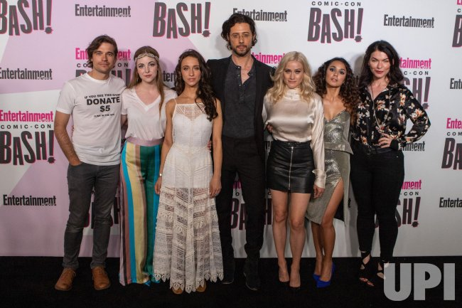Cast of the Magicians attends Entertainment Weekly's Comic-Con celebration party in San Diego, California