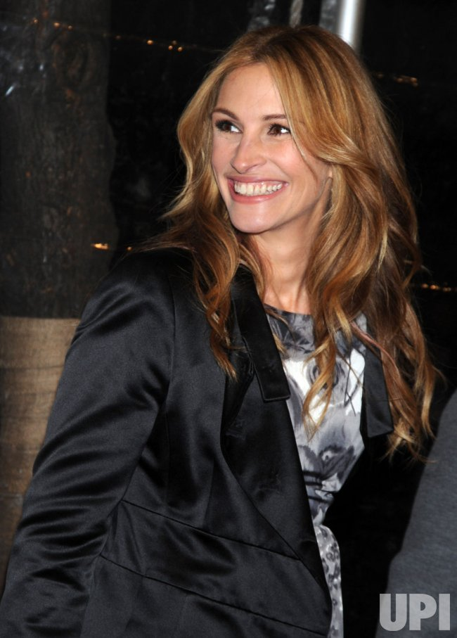 Julia Roberts promos new film Duplicity in New York