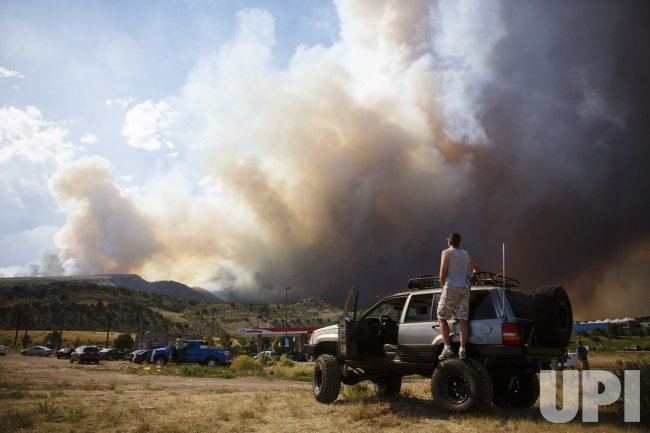 Waldo Canyon Fire Erupts In Colorado Springs