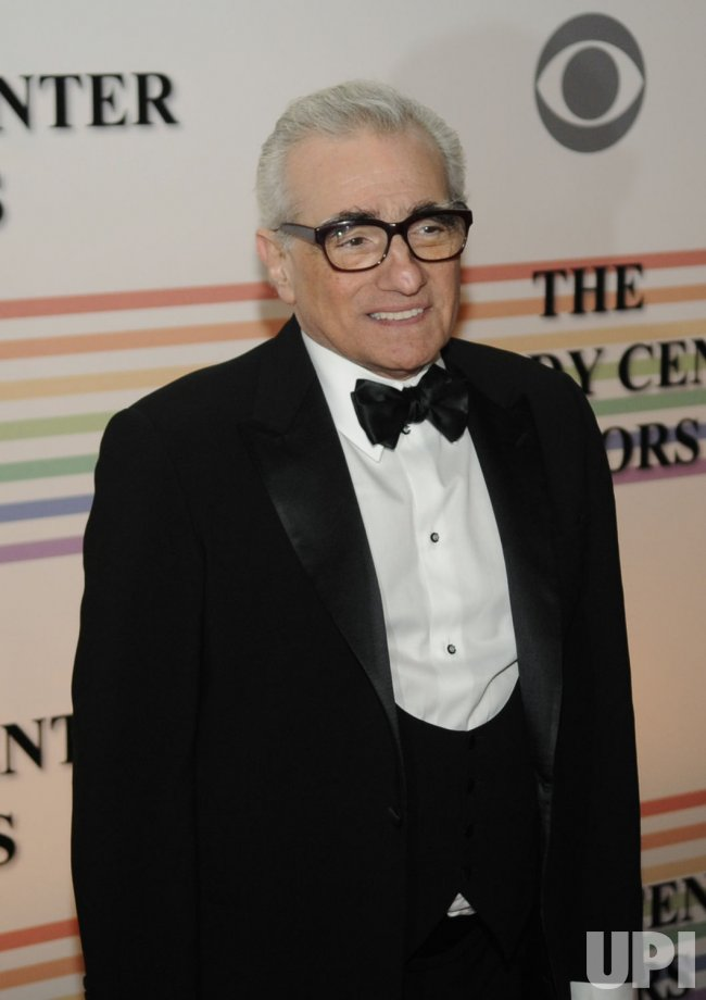 Martin Scorsese arrives at Kennedy Center Honors in Washington