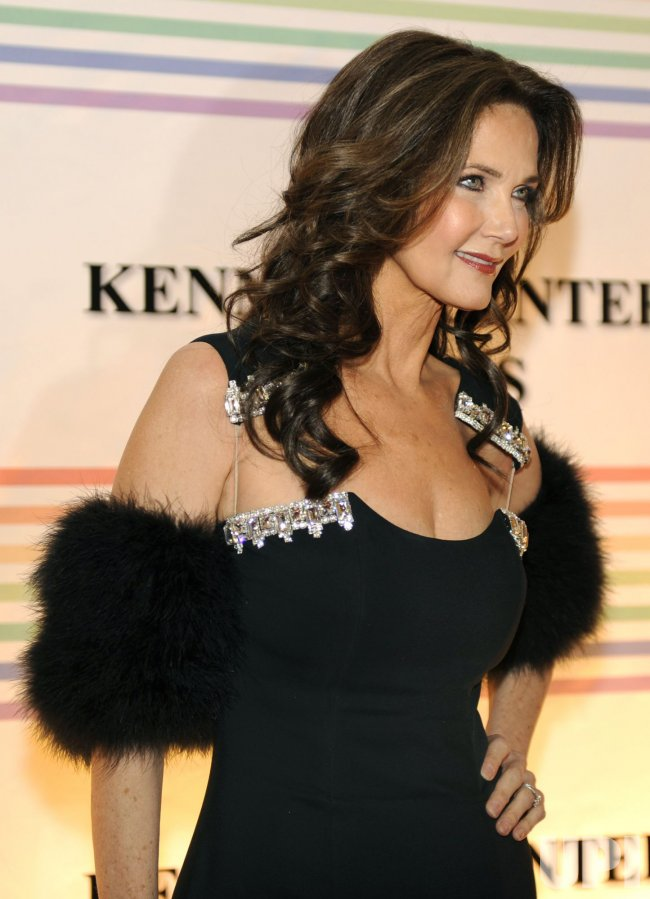 Lynda Carter Arrives For Kennedy Center Honors Gala In