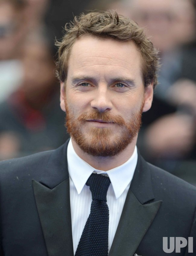 "Michael Fassbender attends the UK Premiere of ""Prometheus"" in London."