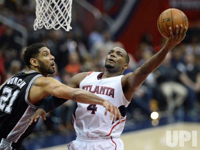 Atlanta Hawks vs. San Antonio Spurs