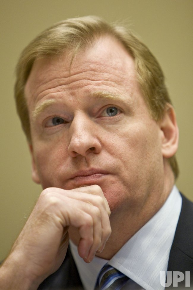 NFL Commissioner Roger Goodell testifies on anti-doping programs on Capitol Hill