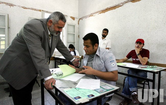 PRIME MINISTER ISMAIL HANIYEH TALKS TO STUDENTS