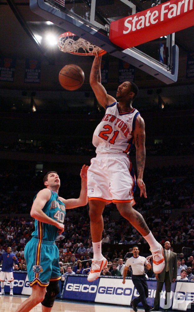 New Orleans Hornets vs New York Knicks