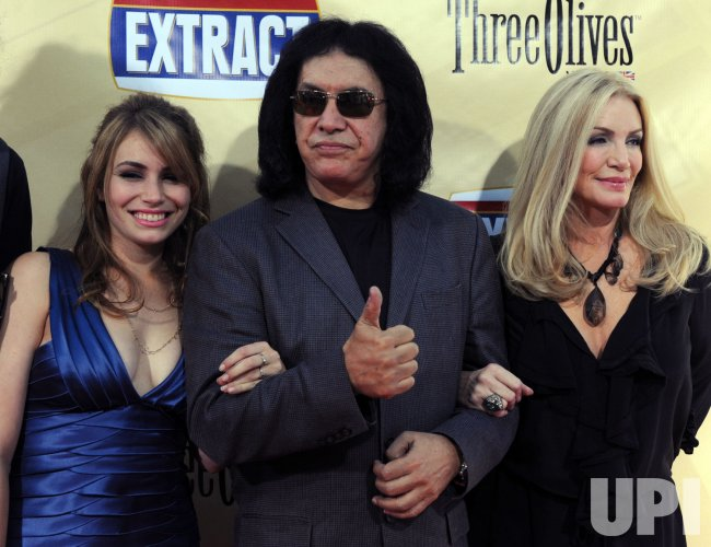 """Gene Simmons attends premiere """"Extract"""" in Los Angeles"""