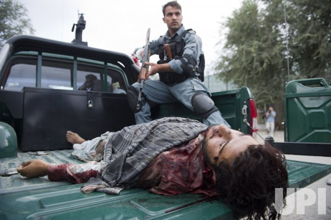 Taliban Attack Downtown Kabul