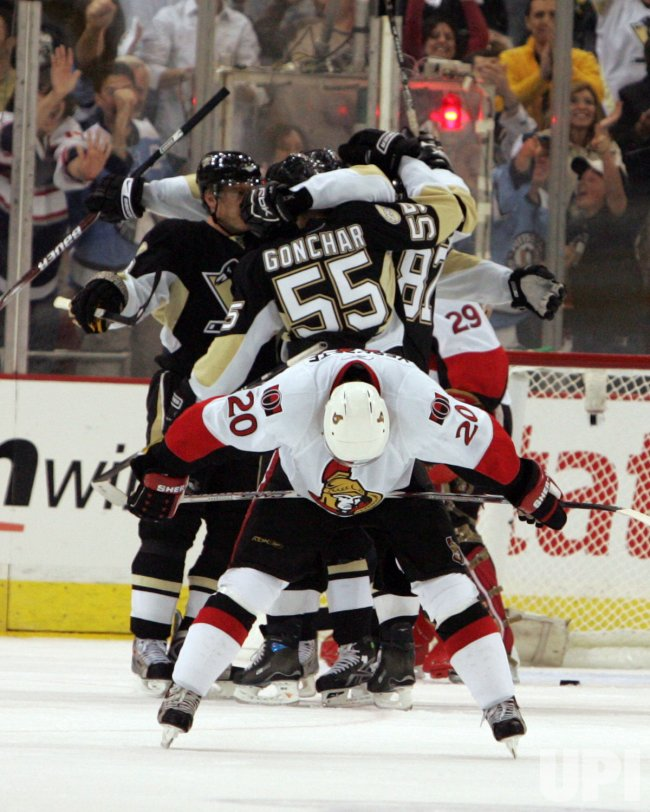 Ottawa Senators vs Pittsburgh Penguins, Eastern Conference Playoffs
