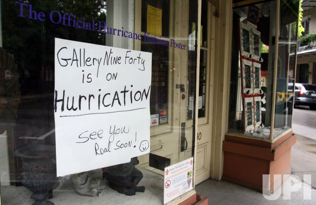 New Orleans prepares for Tropical Storm Isaac