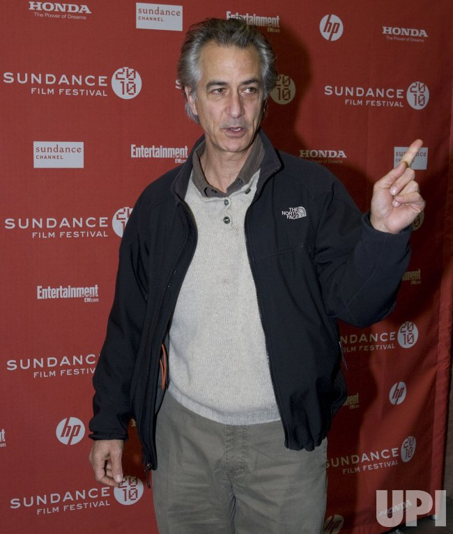 Howl's Strathairn Arrives at the 2010 Sundance Film Festival in Park City, Utah
