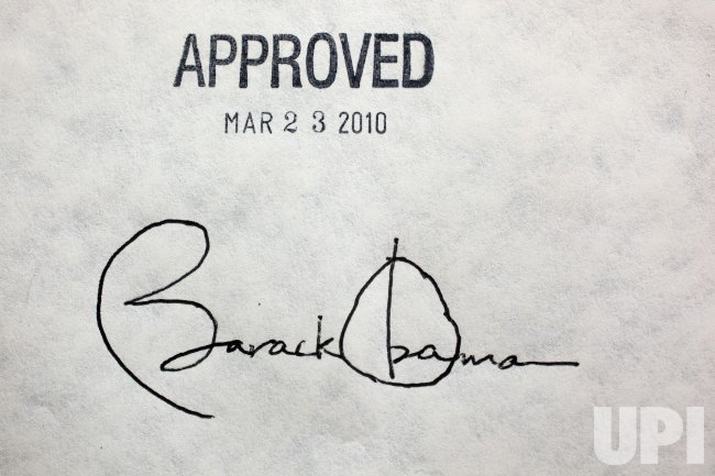 President Obama Signs Historic Health Care Bill in Washington