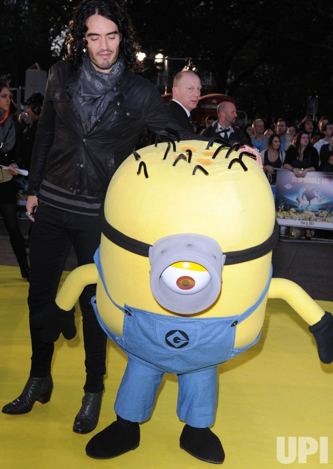 "Russell Brand attends ""Despicable Me"" premiere"