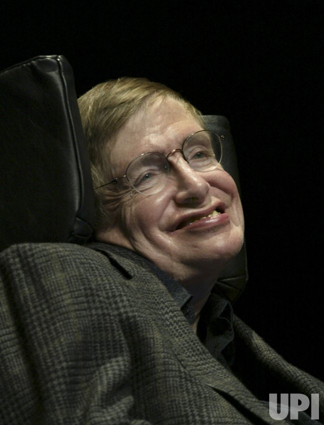 PROFESSOR STEPHEN HAWKING RECEIVED THE JAMES SMITHSON BICENTENNIAL MEDAL