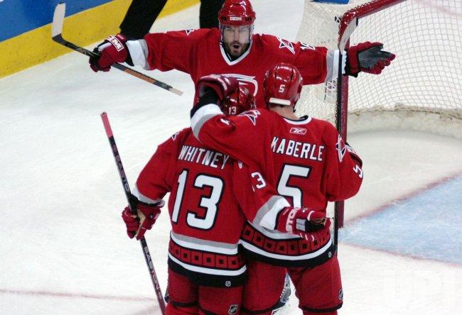 NHL NEW JERSEY DEVIILS VS CAROLINA HURRICANES