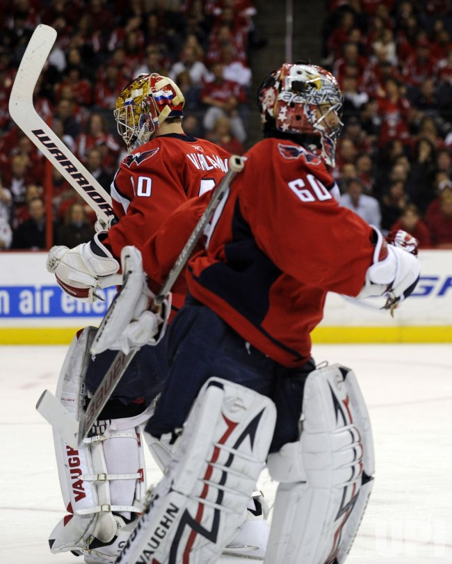Semyon Varlamov replace Jose Theodore in Washington, DC